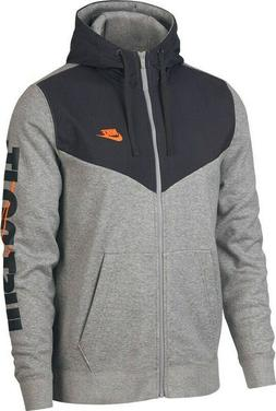 NIKE $70 MEN'S FULL-ZIP FLEECE HOODIE Pullover Jacket NEW 93