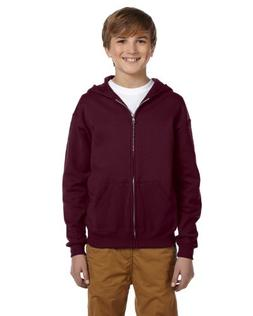 993B Jerzees Youth NuBlend® Full-Zip Hooded Sweatshirt
