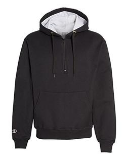 Champion 9.7 oz, 90/10 Cotton Max Quarter-Zip Hoodie Sweatsh
