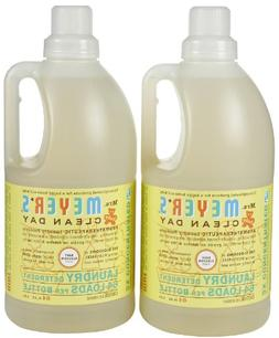 Mrs. Meyer's Clean Day Laundry Detergent - Baby Blossom - 64