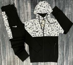 NIKE AIR SWEATSUIT ZIP UP HOODIE AND JOGGERS COMPLETE SET SL