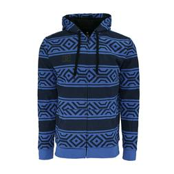 DC Apparel all over MEN'S SHERPA FULL ZIP HOODIE-Tech Print
