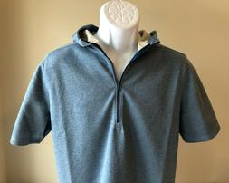 Under Armour Athlete Recovery TB12 S/S 1/2 Zip Workout Hoodi
