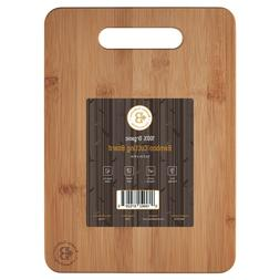 Bamboo Cutting Board Chopping and Serving Board 12.5 x 9 Inc