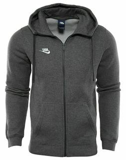 NIKE Big & Tall $55 Men's Club Full-Zip Fleece Training HOOD