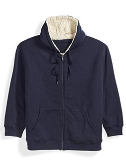 Amazon Essentials Men's Big and Tall Sherpa Lined Full-Zip H