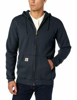 carhartt men s midweight zip front hooded