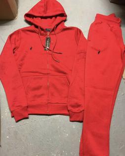 Polo Ralph Lauren Classic Sweat Suit Complete Set Full Zip H