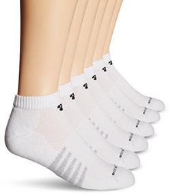New Balance Men's Core Low Cut Socks, White, Large