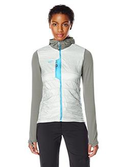 Outdoor Research Women's Deviator Hoody, Alloy/Pewter, Mediu