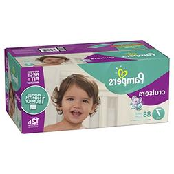 Pampers Cruisers Disposable Baby Diapers Size 7, 88 Count, O