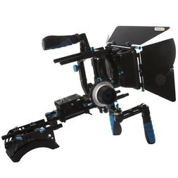NEEWER® DSLR Shoulder Mount Support Rig with Camera/Camcord