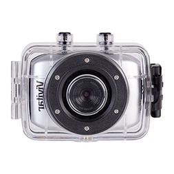 Vivitar DVR785HD-BLU 5MP Pro Waterproof Action Camcorder wit