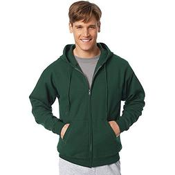 Hanes by ComfortBlend EcoSmart Full Zip Hoodie_Deep Forest_L