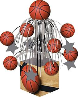 Creative Converting Sports Fanatic Basketball Centerpiece wi