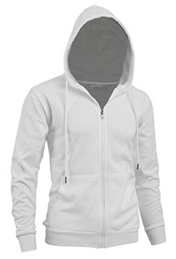 Delight Men's Fashion Fit Full-Zip Hoodie with Inner Cell Ph