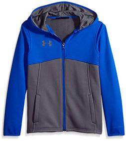 Under Armour Boys' Armour Fleece Full Zip Hoodie,Graphite /G