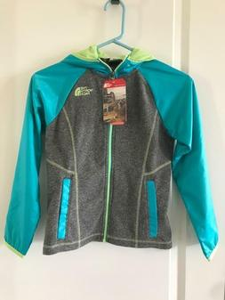 The North Face Girls Glacier Track Full Zip Hoodie NWT