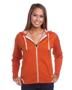 Global Slim Fit French Terry Lightweight Zip Up Hoodie for M