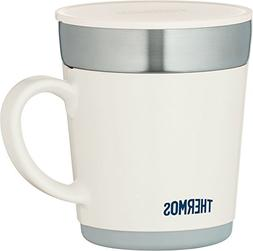 Thermos heat insulation mug 350ml white JDC-351WH