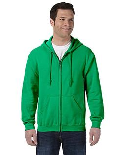 Gildan Heavy Blend Adult Full-Zip Hooded Sweatshirt, Irish G