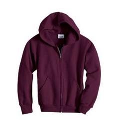 HN YTH 7.8OZ COMFBLND FULL ZIP