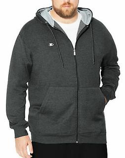 Champion Hoodie Men's Full Zip Fleece Sweatshirt Big & Tall