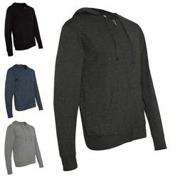Independent Trading Co. Lightweight Jersey Hooded Full-Zip T