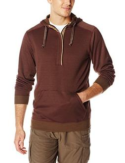 ExOfficio Men's Isoclime Thermal Hoody Baroque/Tough, Large
