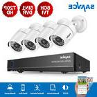 SANNCE H.264+ 5in1 8CH DVR Outdoor 1080P 2MP Video CCTV Secu