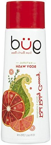 Gud Natural Body Wash Red Ruby Groovy Grapefruit & Thyme, 10