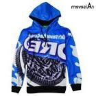 New Autumn Winter Men/women Hoodie Print OREO Cookie Food Hi