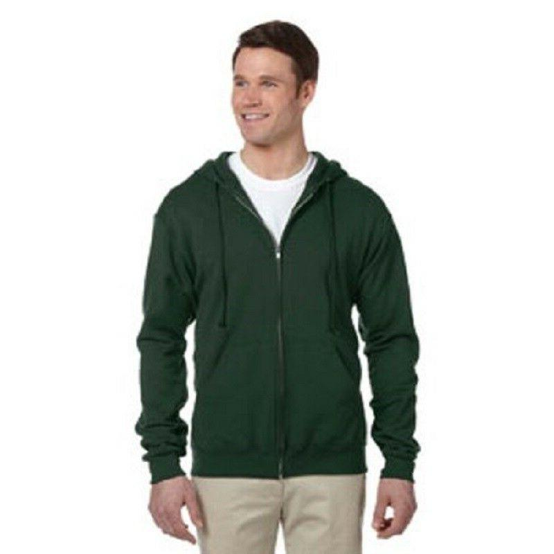 Jerzees Adult 8 oz. NuBlend Fleece Full-Zip Hoodie Sweatshir