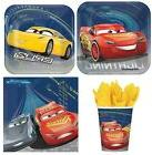Cars 3 McQueen Party Supplies Express Pack for 8 Guests