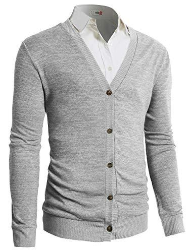 casual slim zip thick knitted