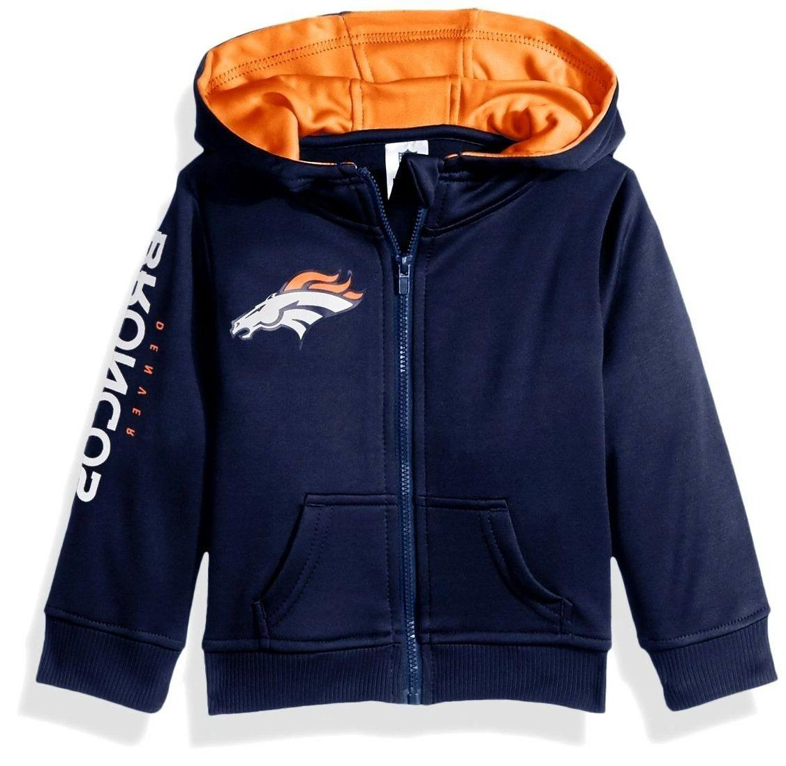 denver broncos toddler boys hd jacket full