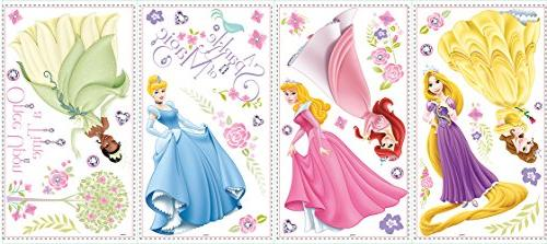 Disney Princess 35 Peel and Stick Wall Decals