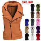Thanth Womens Zip up Vest with Hood