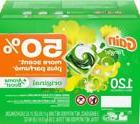 Gain Flings + Aroma Boost 50 % More Scent 120 Count