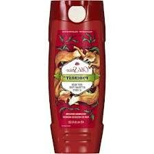Old Spice Foxcrest Scent Body Wash 16 oz  - Wild Collection