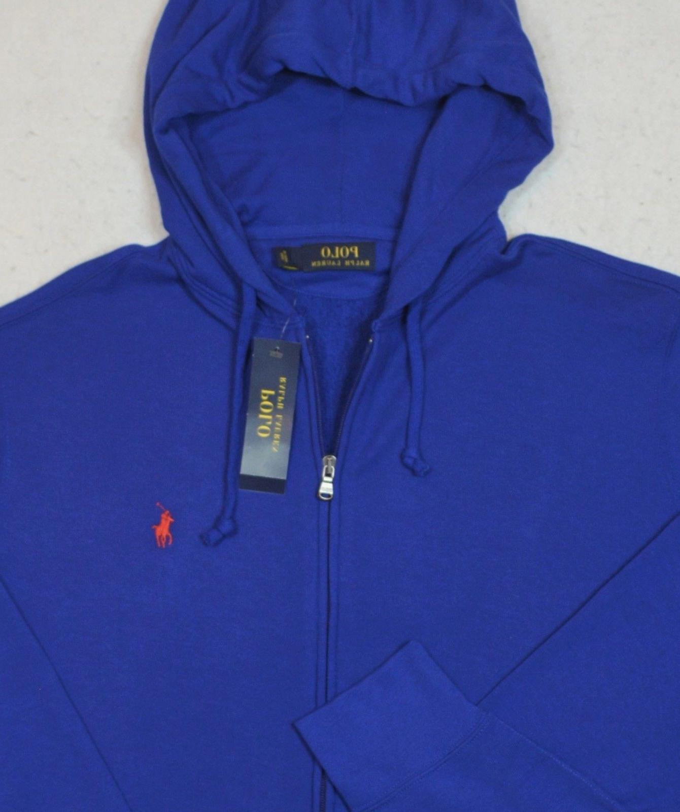 Polo Ralph Zip French Terry Jacket 2XLT