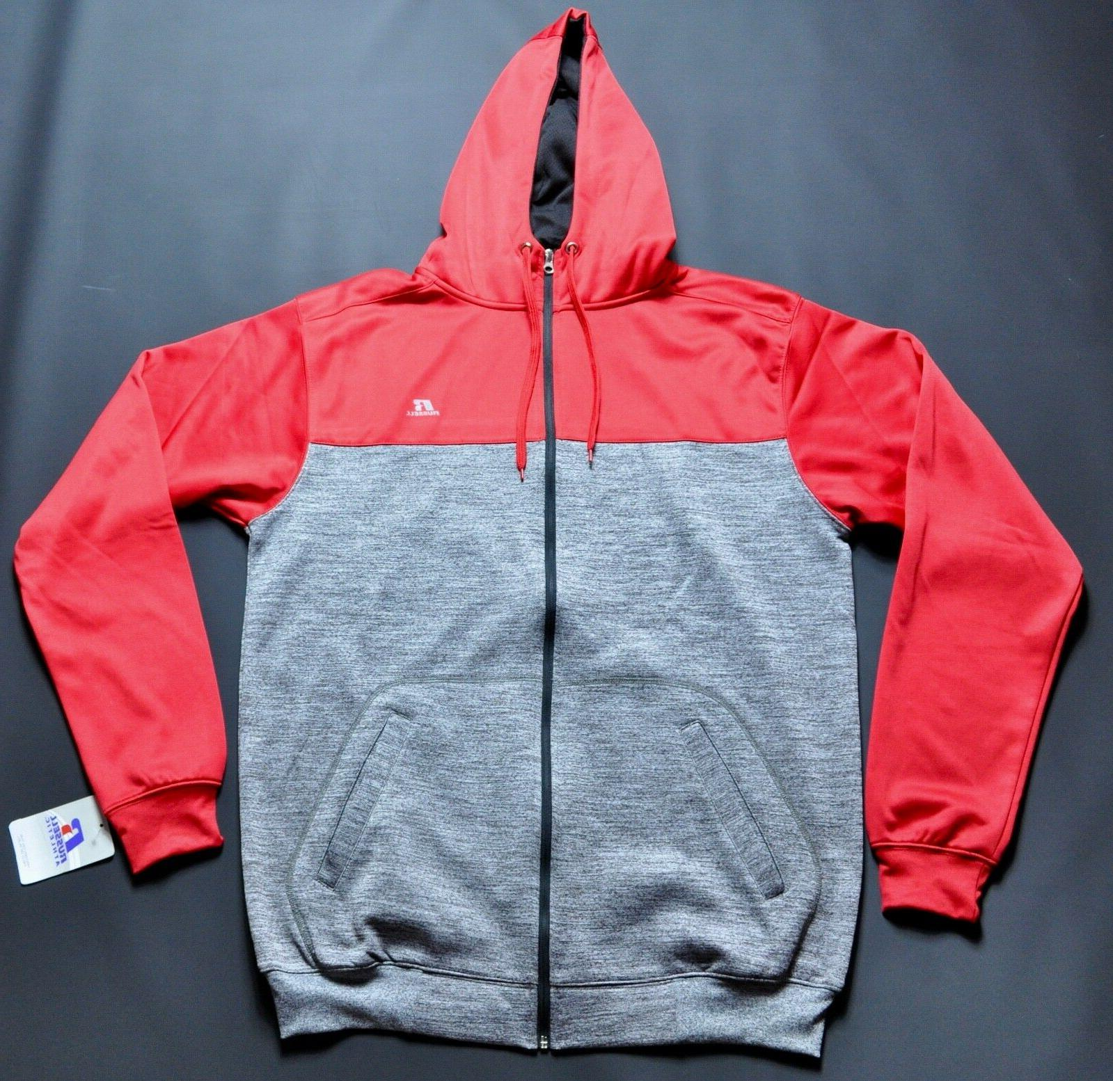 full zip hoodie large tall gray