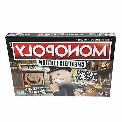 Cheaters Monopoly Gameboard Edition Fun Family Friends Board Games Brand NEW