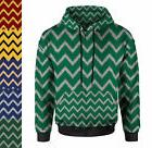 Harry Potter Inspired House Chevrons Women Zip Up Hoodie XS-