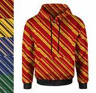 Harry Potter Inspired House Stripes Women Zip Up Hoodie XS-3