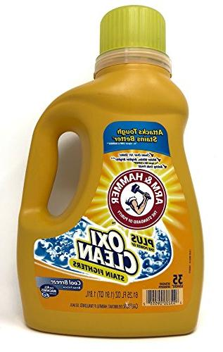 he liquid concentrate plus oxiclean