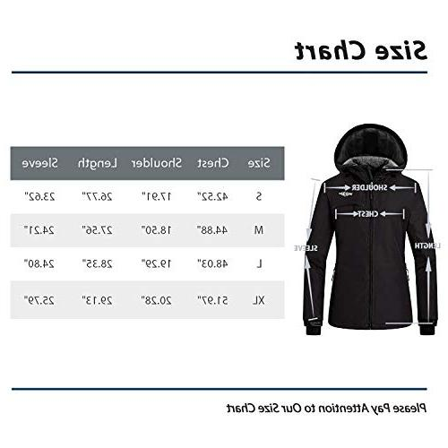 Wantdo Jacket Outdoor Windproof Snow for Hiking