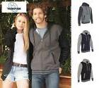 independent trading unisex varsity hooded full zip