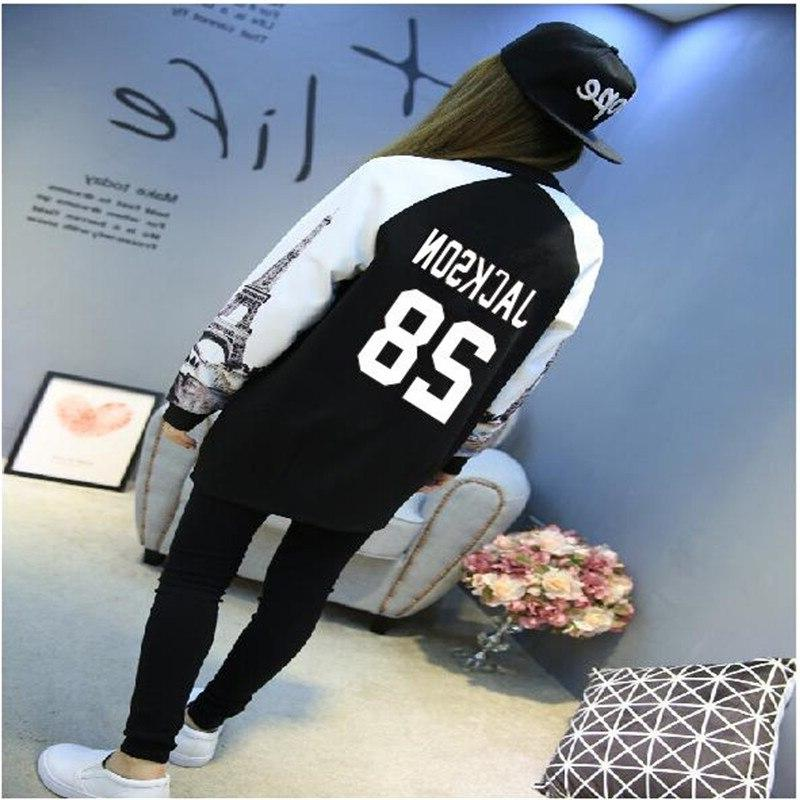 GOT7 kpop Spring and Autumn Long section women Athleisure <f