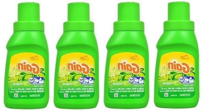 laundry detergent he lot of 4 10